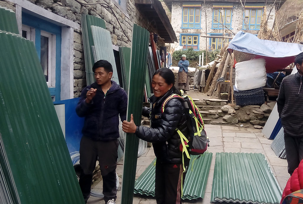 Nepal earthquake reconstruction